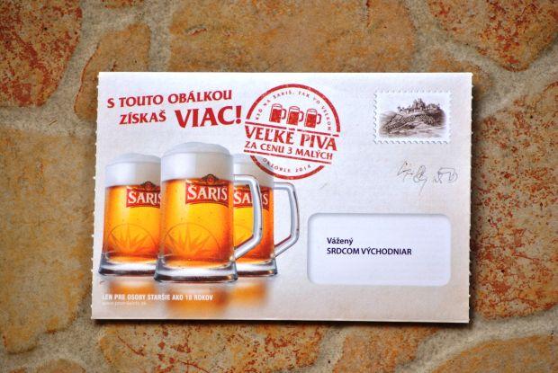 Takéto obálky dostávajú do schránok tisícky domácnosti na východe.