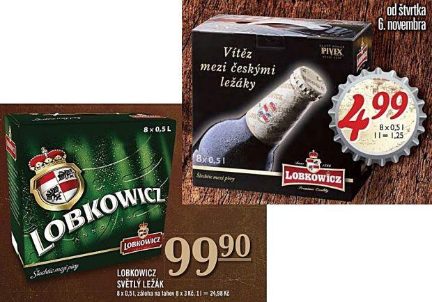 Aj keď obal vyzerá odlišne, Lobkowicz má len jeden druh piva, ktorý považuje za svoj najexkluzívnejší.