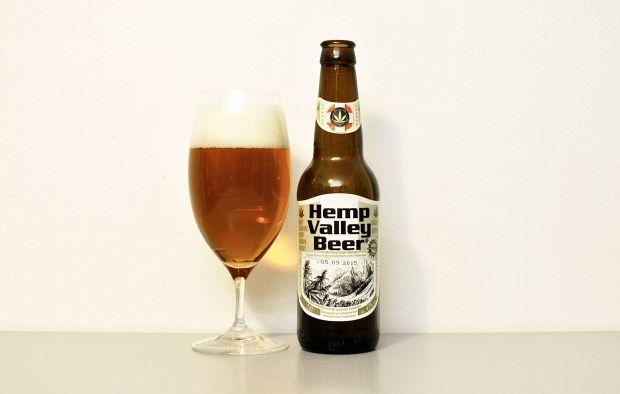 Nová Páka Hemp Valley Beer