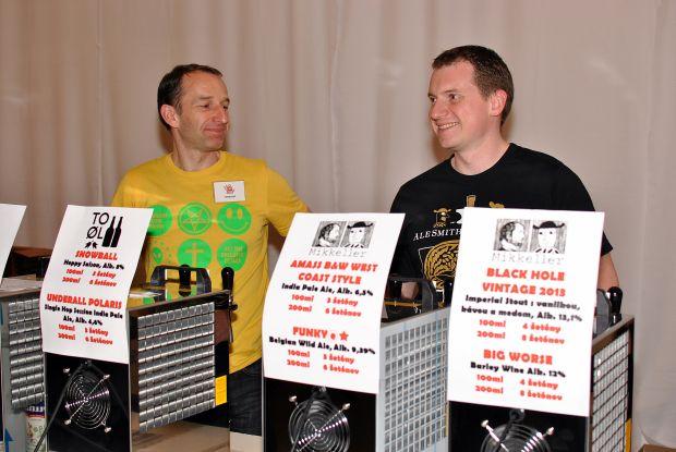 Špeciály na Salóne Piva ponúkal aj Drinkshop.sk. V ich ponuke ste mohli nájsť To Øl či Mikkeller.