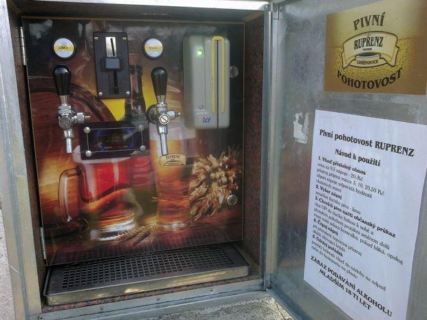 Pivný automat 1