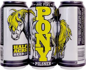 10. Half Acre Gin Barrel Aged Pony Pilsner
