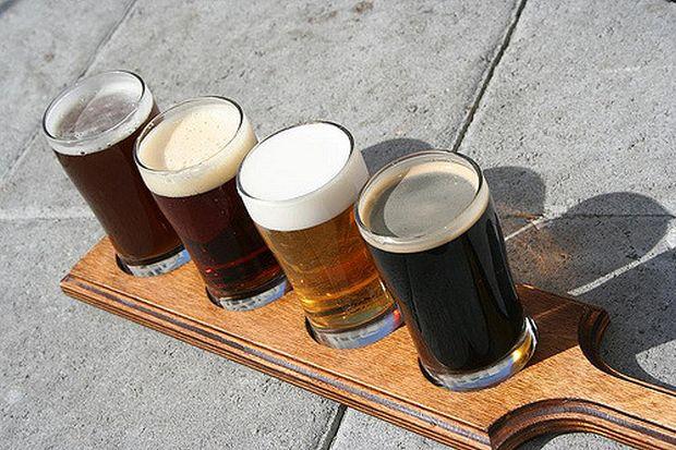 Pivo ilustrák degustácia