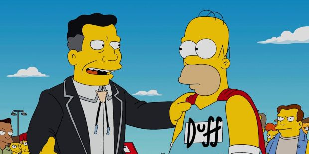 Simpson Homer Duff Beer