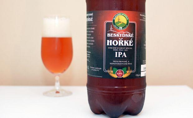 Beskydský pivovárek Beskydské Hořké IPA