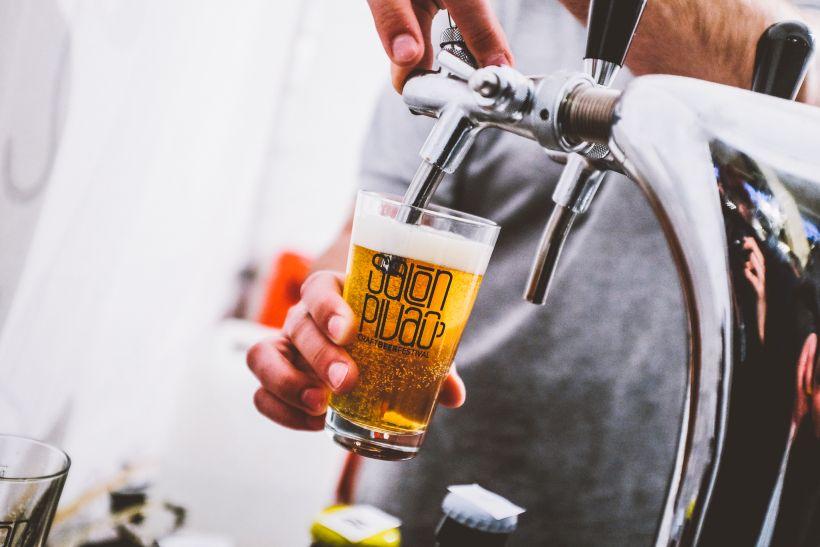 Salón Piva, pivo, výčap