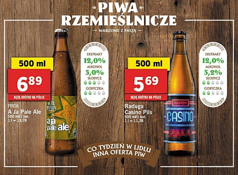 Regionálne pivá Lidl Poľsko