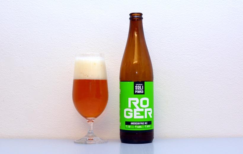 Roger, American Pale Ale, APA, Poľsko, poľské pivo