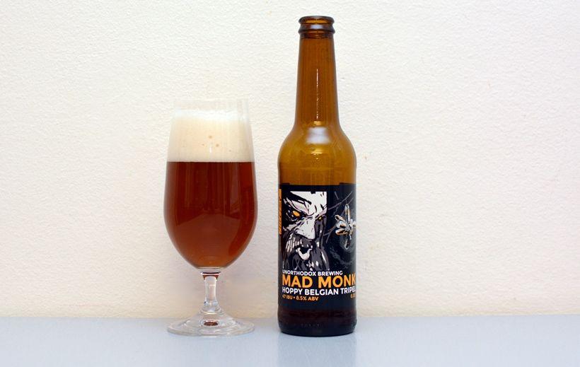 Mad Monk, Unorthodox Brewing, Tripel