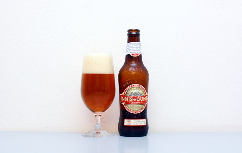 Innis & Gunn, English Strong Ale, škótske pivo
