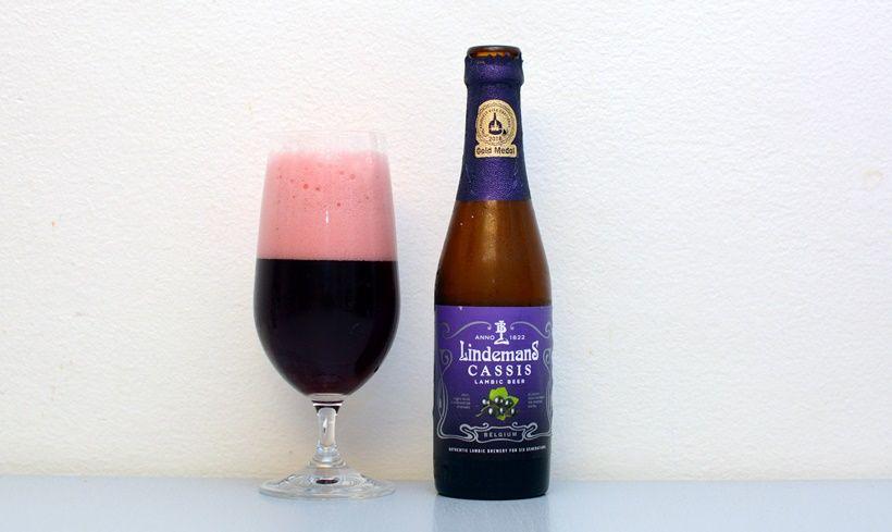 Lindemans, Cassis, čierne ríbezle, ovocné pivo