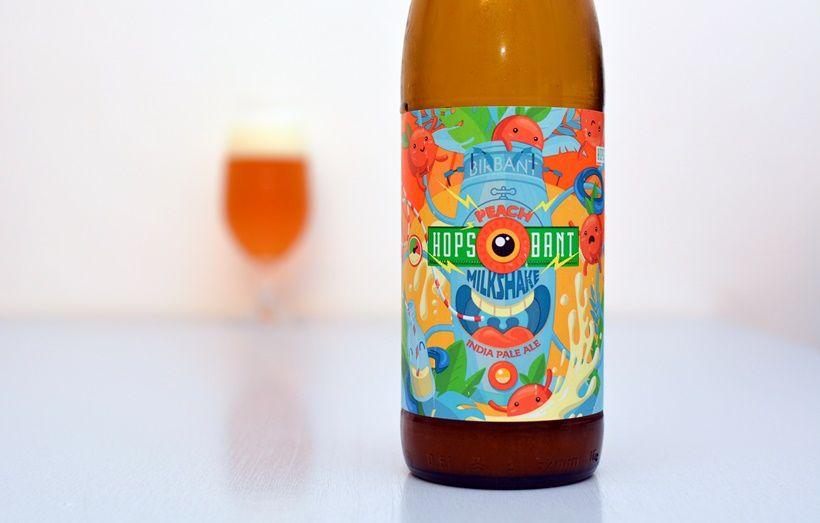 Birbant, IPA, Milkshake IPA, broskyňové pivo