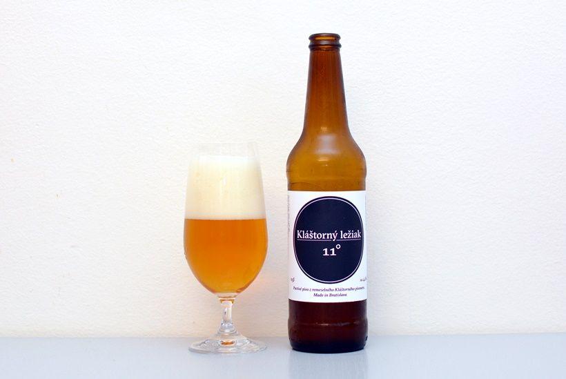 Kláštorný ležiak, Kláštorný pivovar, ležiak, Bratislava, bratislavské pivo