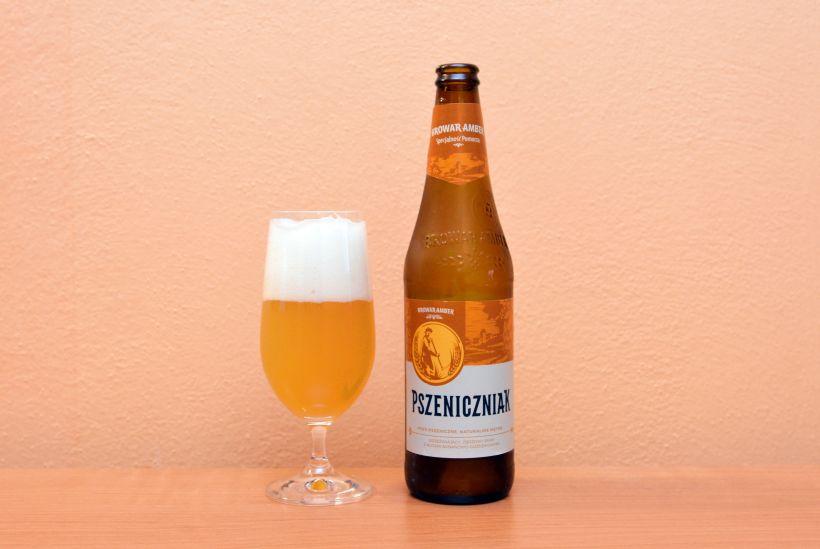 Pszeniczniak, Browar Amber, poľské pivo, pšeničné pivo