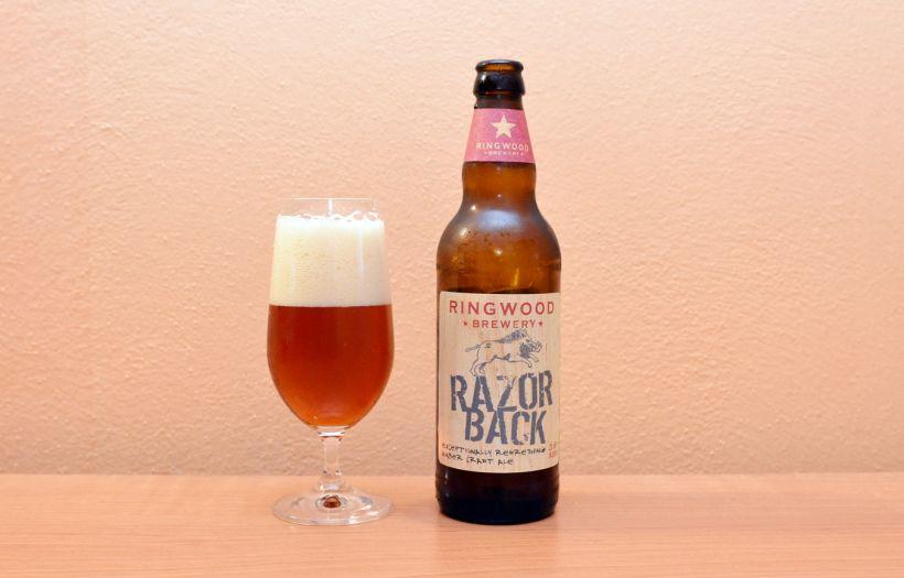 Ringwood Brewery, Bitter, Razorback