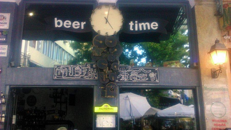 Beer Time, Atény, Grécko, pivo, pivovar, grécke pivo