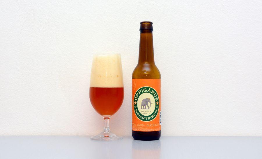 Oppigårds, Indian Tribute, IPA, India Pale Ale, švédske pivo