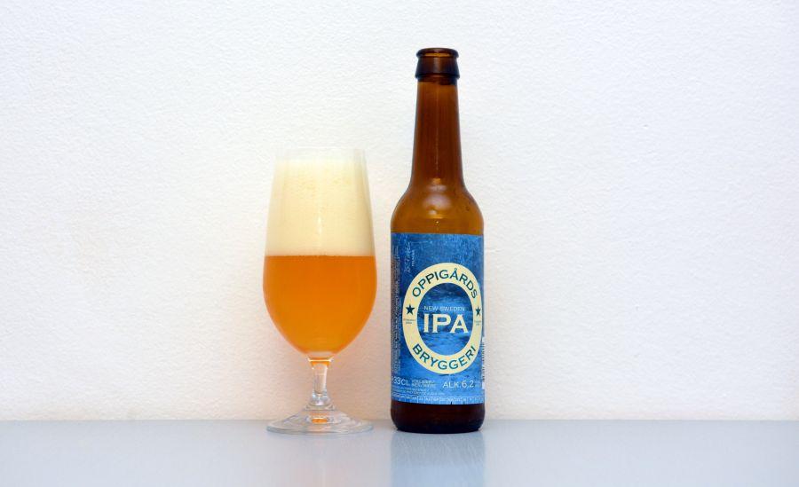 Oppigårds Brygger, New Sweden IPA, NEIPA, švédske pivo