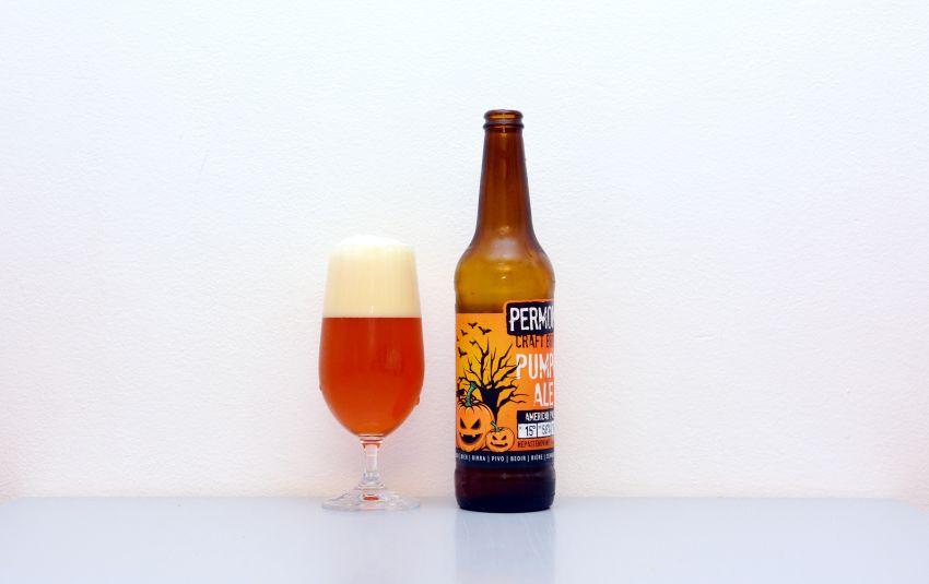 Permon, Pumpkin Ale, tekvicové pivo,