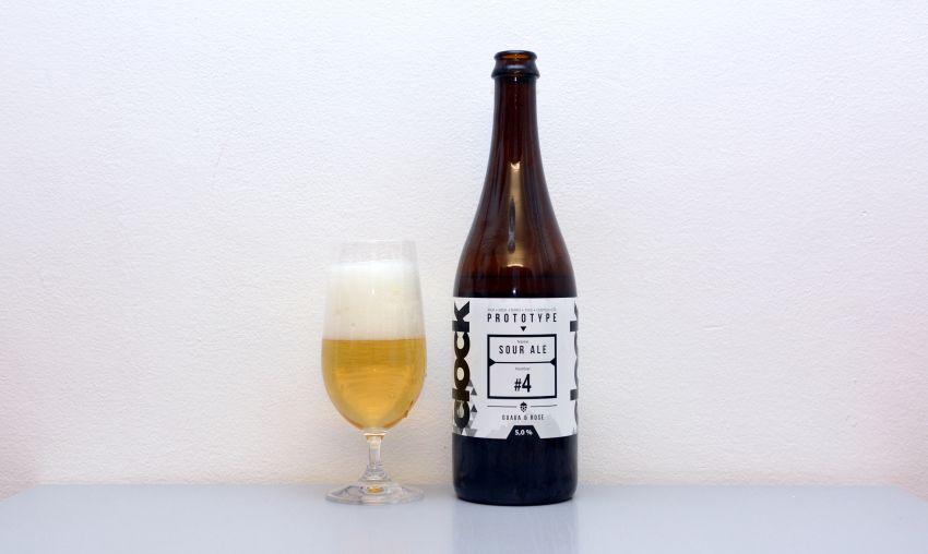 Clock, Prototype, Sour Ale, kyseláč, české pivo, recenzia