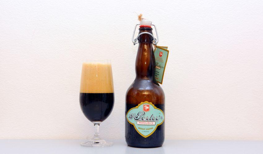 Pardubický pivovar, Porter, recenzia piva, oslava výročia