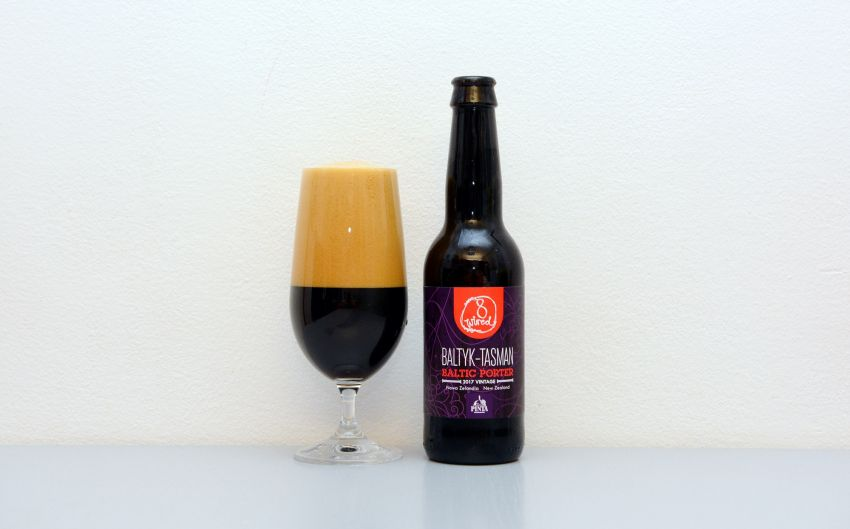 8 Wired Brewing, Browar Pinta, Porter, Nový Zéland