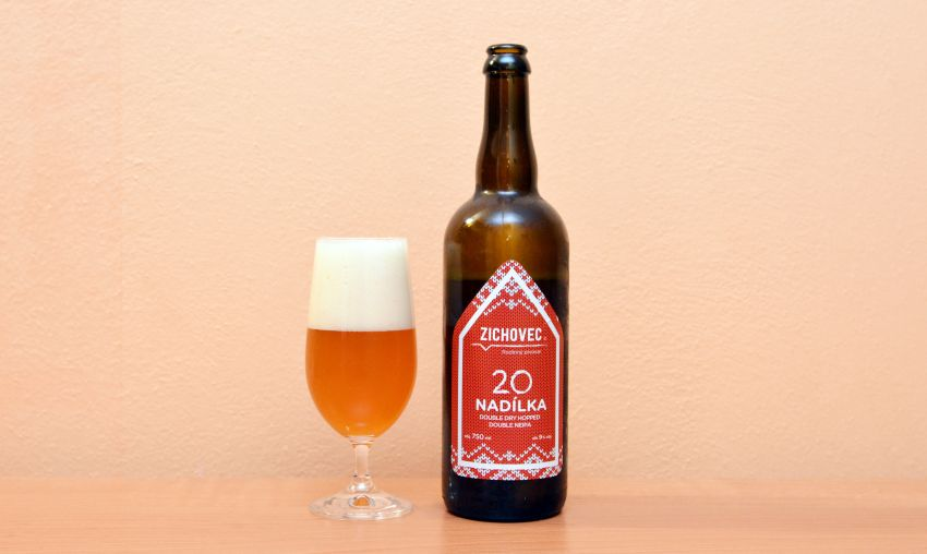 Nadílka, NEIPA, Zichovec, recenzia piva