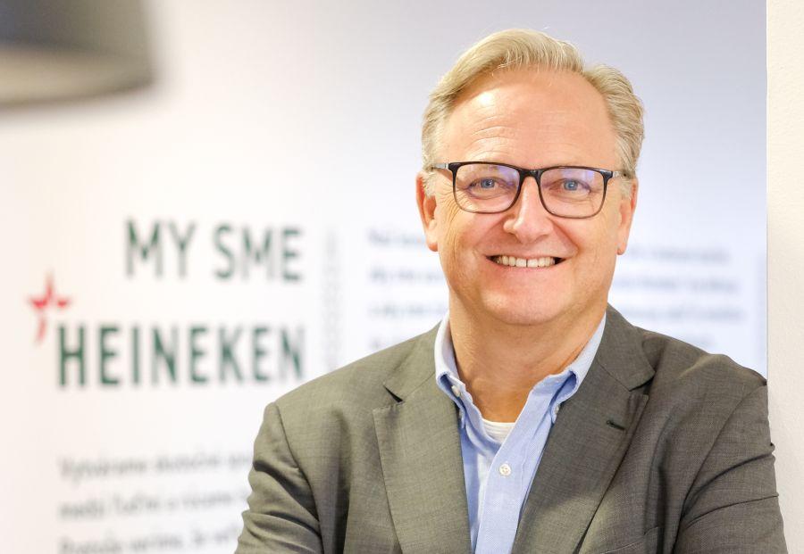 Rene Kruijt, generálny riaditeľ Heineken Slovensko.