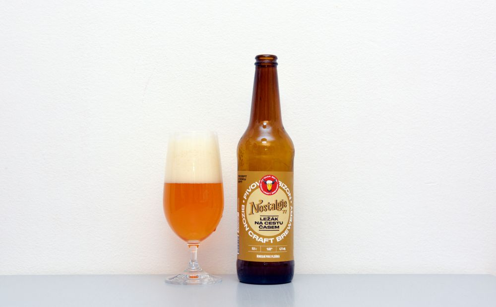 Nostalgie, Bizon, ležiak, české pivo