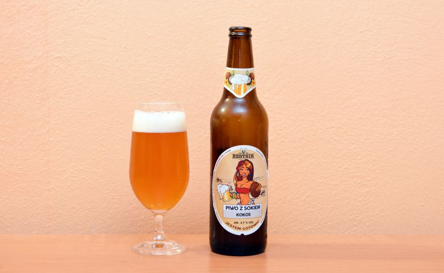 Borwar Staropolski, kokos, kokosové pivo, poľské pivo