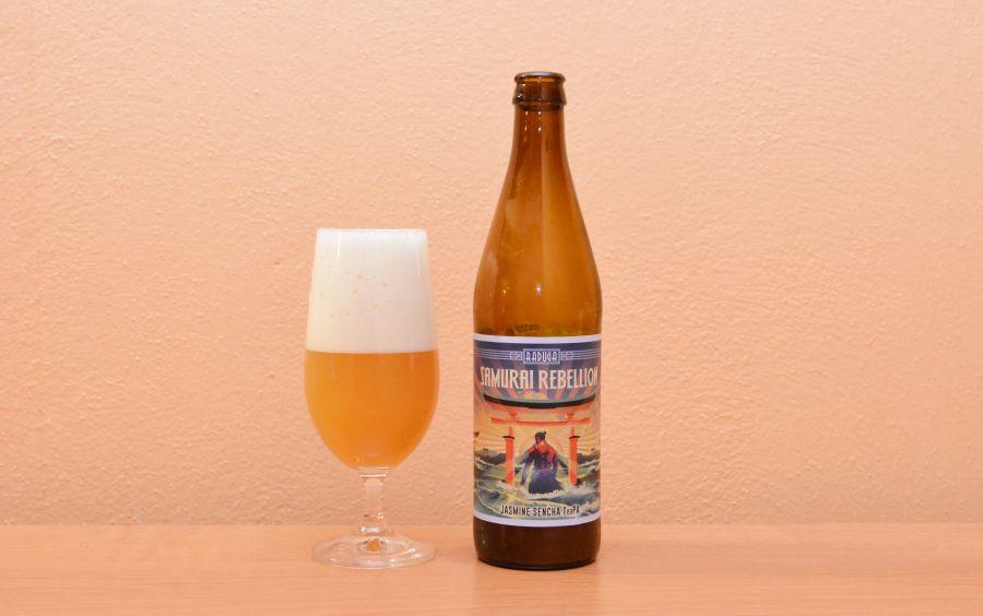 Raduga, Samurai Rebellion, jazmínové pivo, poľské pivo