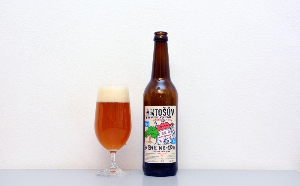 Nene NE-IPA, Antošův rukodělný pivovar, New England IPA, NEIPA