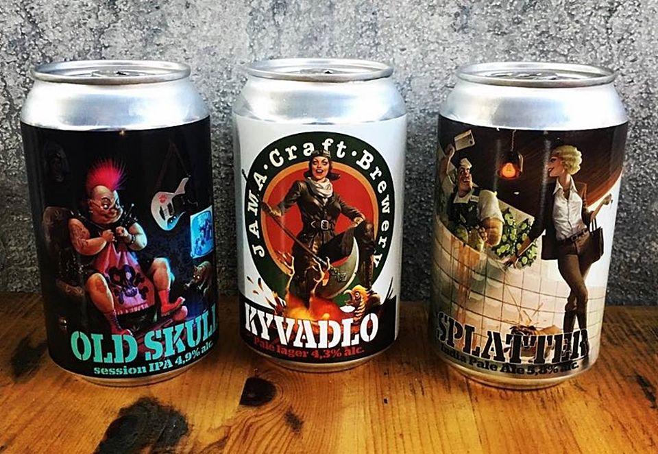 JAMA Craft Brewery, plechovka, plechovkové pivo, plechovka