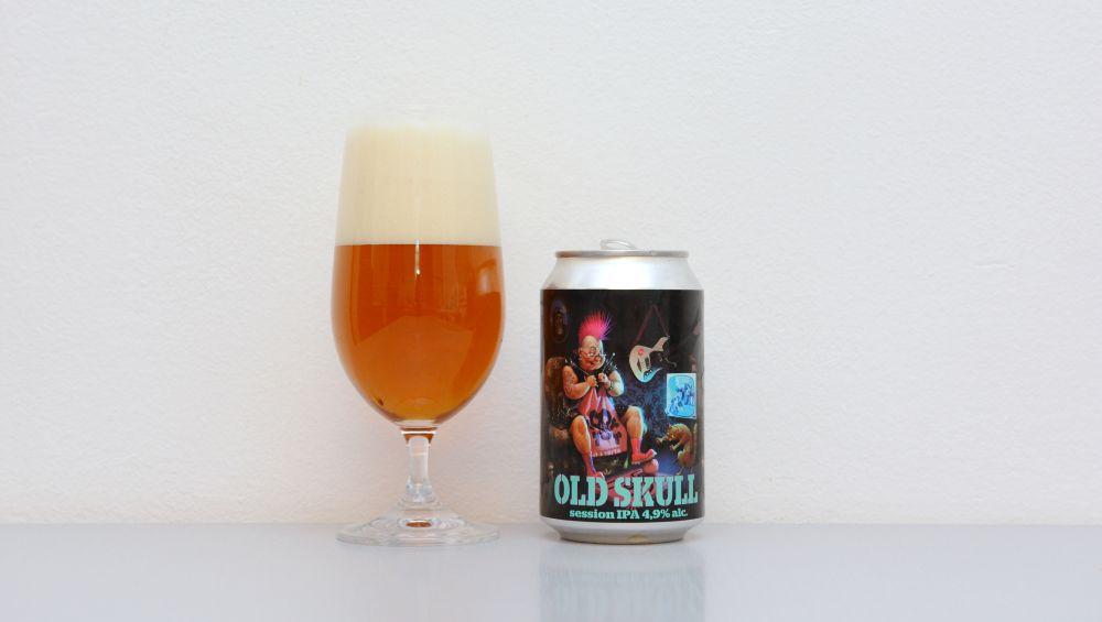 Old Skull, JAMA Craft Brewery, plechovka, plechovkové pivo