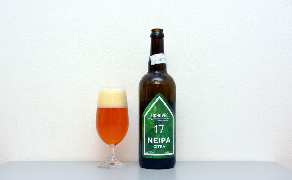 Zichivec, Citra, NEIPA, test, recenzia, pivo
