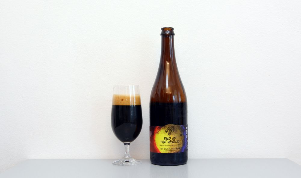Hop Grup. Stout, End of The World, recenzia, test piva