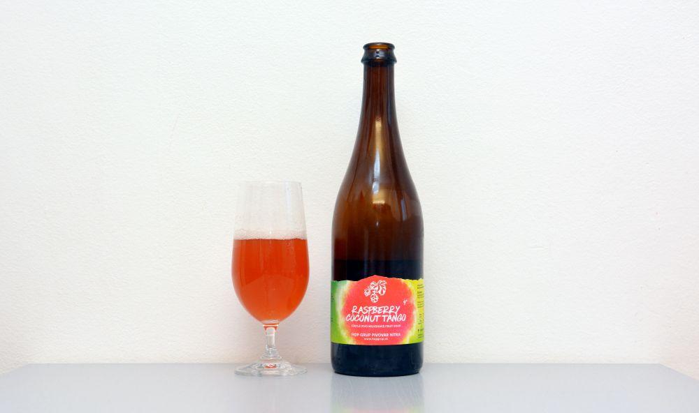Raspberry Coconut Tango, Hop Grup, Sour, kyseláč, recenzia, test, Nitra, nitrianske pivo,