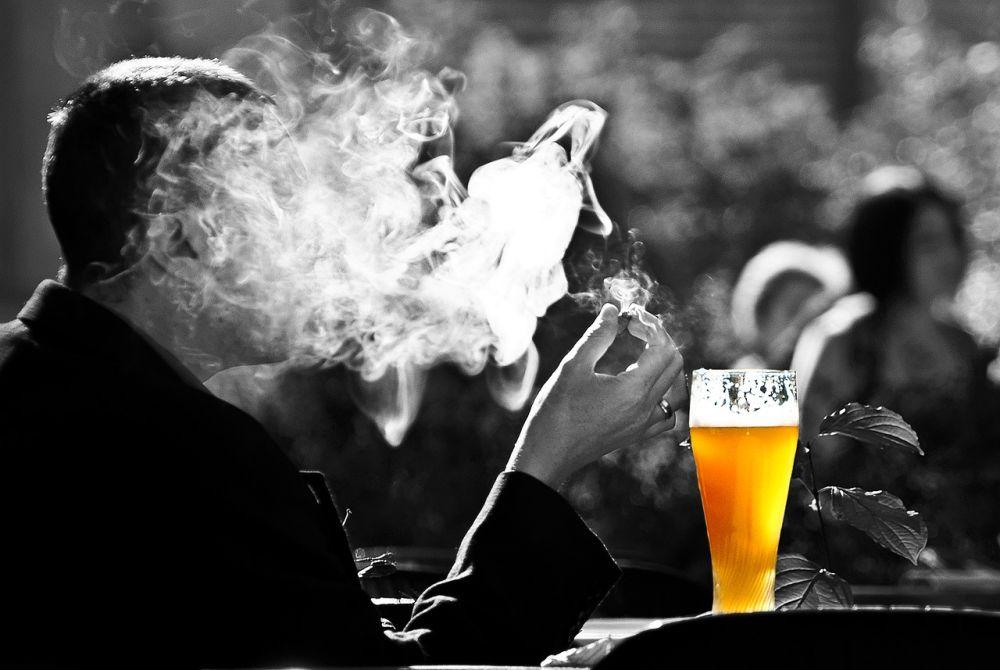 Bez záruky, Louny, Zichovec, ZLoun, Heineken, malé, pivo, dym