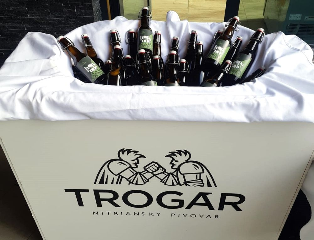 Trogár, Nitra, reštart, nitrianske pivo