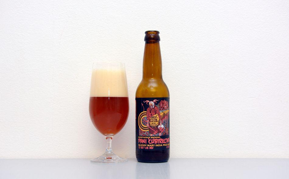 Pani Čubirková, Bloody Mary, IPA, paradajkové pivo, Unorthodox Brewing