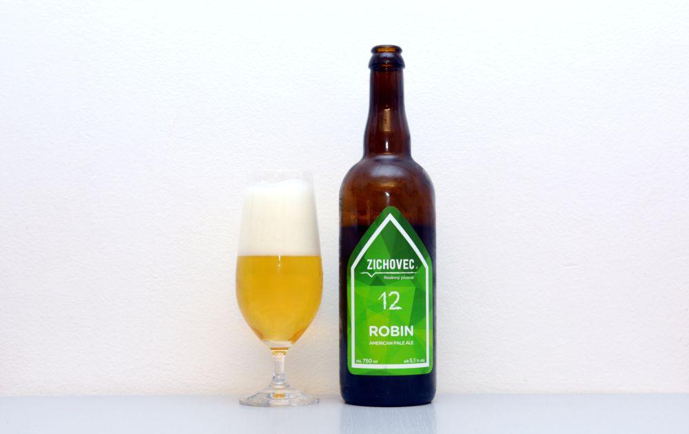 Robin, Zichovec, APA, American Pale Ale, recenzia, test