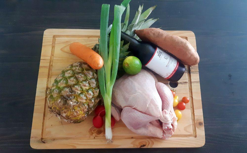 Punková kuchyňa, kura, ananás, recept, Šilker´s Brewery