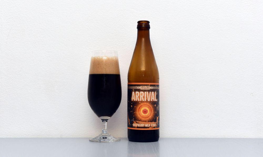 Raduga, Arrival, poľské pivo, test piva, Stout, recenzia piva