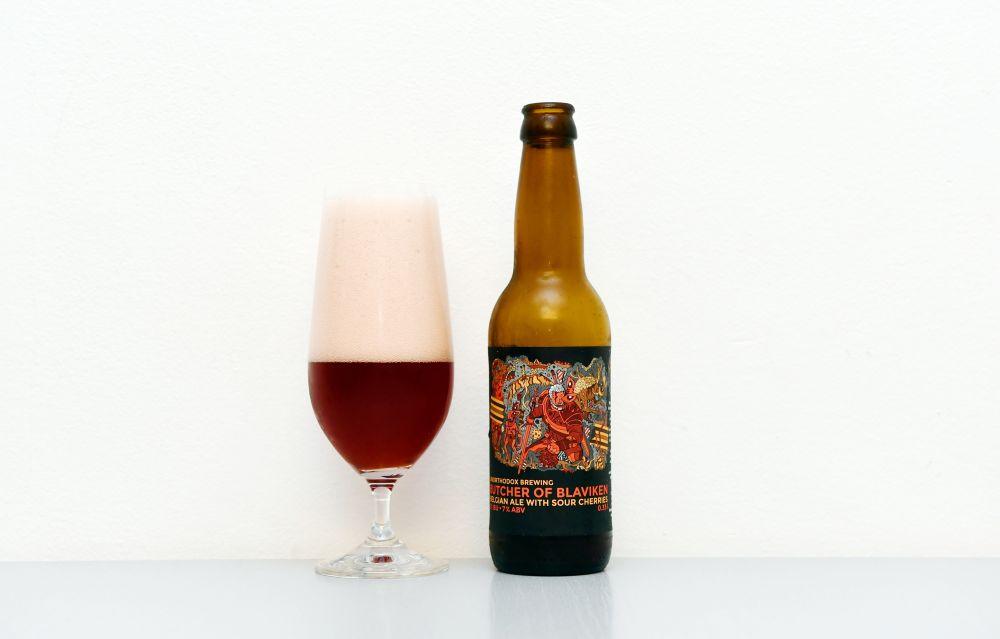 Butcher of Blaviken, Saison, Unorthodox Brewing, test, recenzia, višňové pivo,