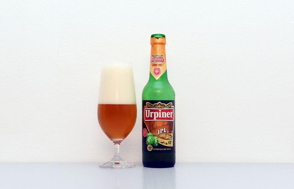 Urpiner IPL, Banskobystrický pivovar, India Pale Lager, test, recenzia piva, Urpiner, IPL