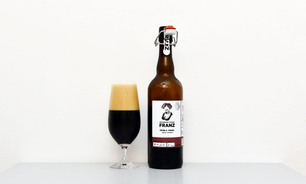 Franz, Black IPA, IPA, lučenecký pivovar, recenzia, test piva