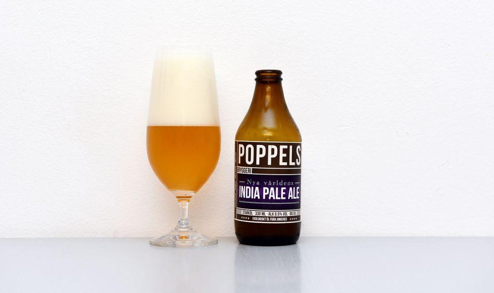 Poppels, IPA, švédska IPA, Nya Världens, švédske pivo