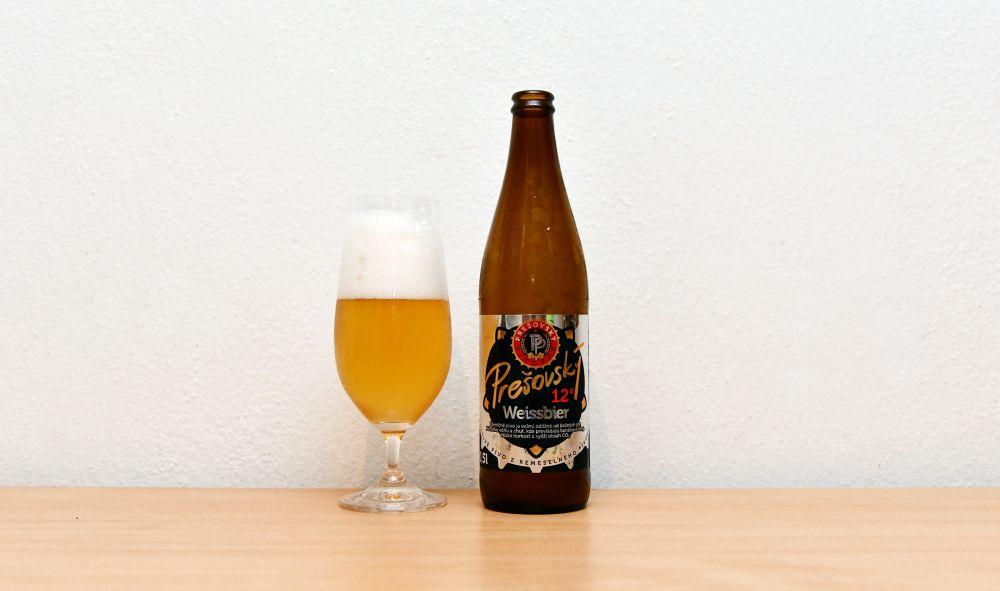 Weissbier, Prešovský Weissbier, pšeničné pivo, recenzia, test