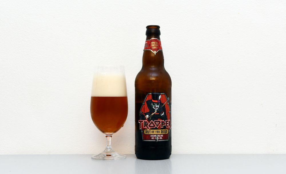 Trooper, Iron Maiden, Robinson Brewery, Day of the Dead, recenzia, test