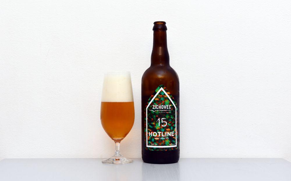 Zichovec, Hotline, IPA, recenzia, test, české pivo